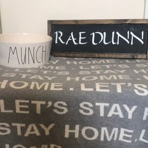 Rae Dunn Extra Large Dog Bowl